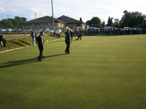 Crown Green Bowling at Woodfield