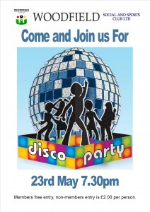Disco at Woodfield