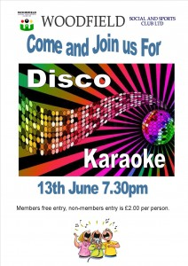 Disco Karaoke at Woodfield
